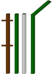 изготовление металлические столбы в Барнауле